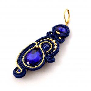 granat i złoto kolczyki, kolczyki z kryształami, prezent dla kobiety, elegancki idealny prezent,