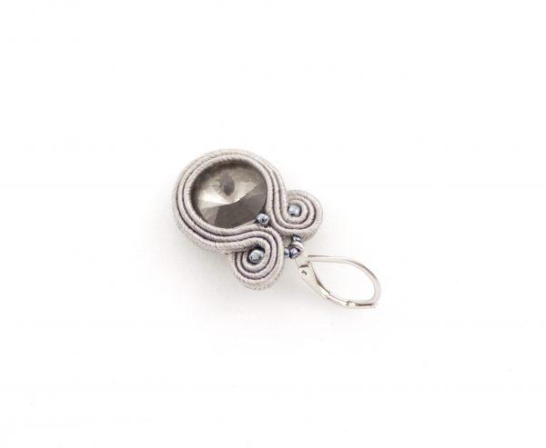Kolczyki z kryształkami idealny prezent dla bliskiej osoby, kolczyki błyszczące