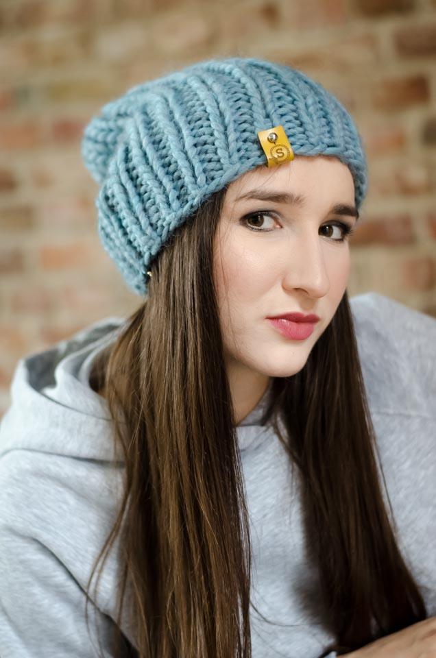 czapka-wełna-błękit-2