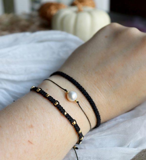 minimalistyczne bransoletki dla kobiet, boho chic, biżuteria